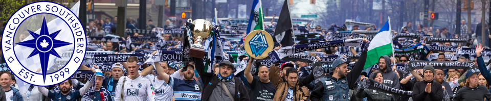 March to the match with the Cascadia Cup